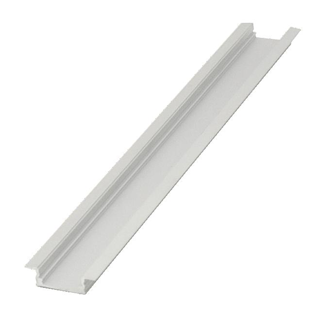 recessed aluminium