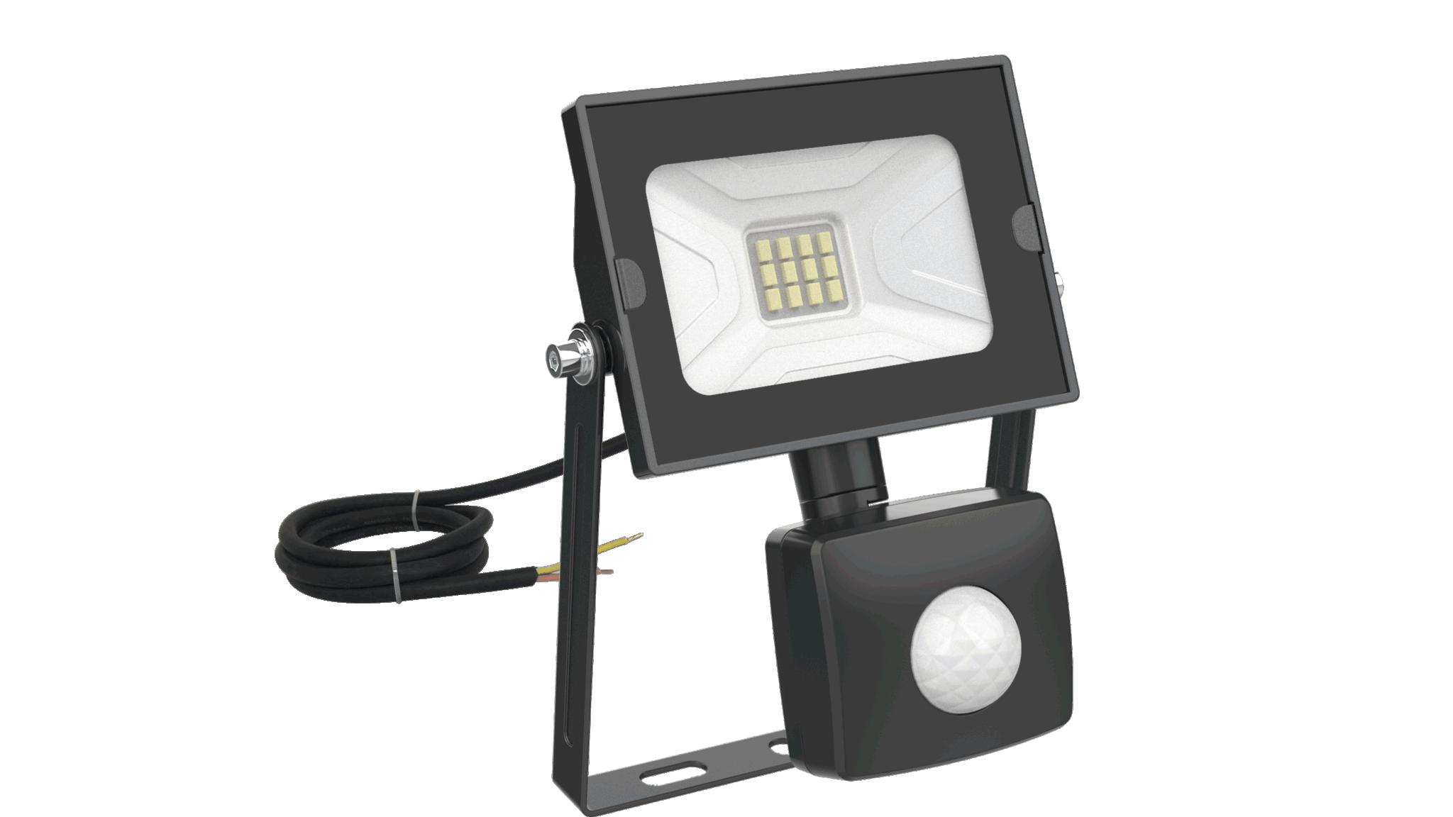 10W Sensor Combat LED Floodlight