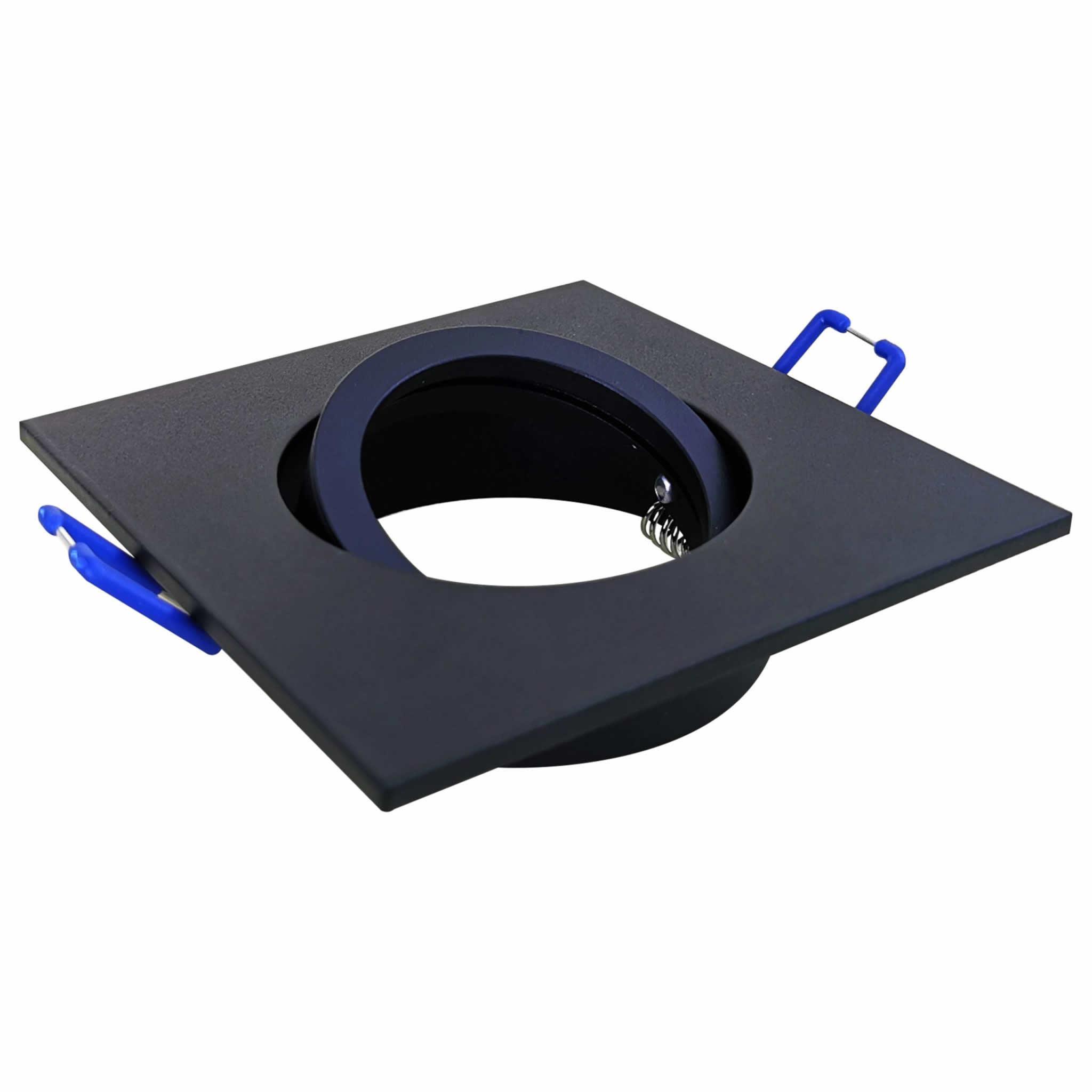 Square Tilt Fixture Black