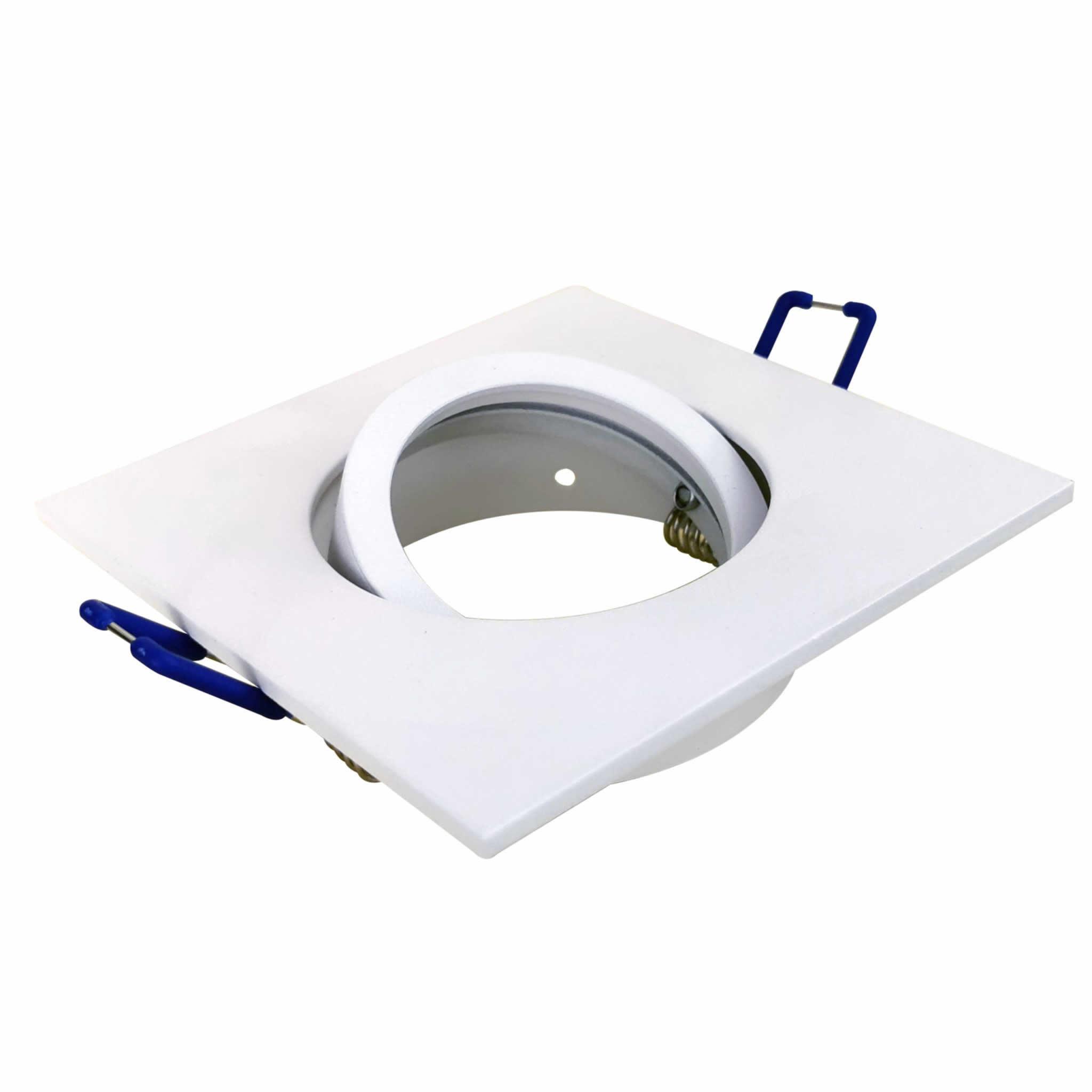 Square Tilt Fixture White