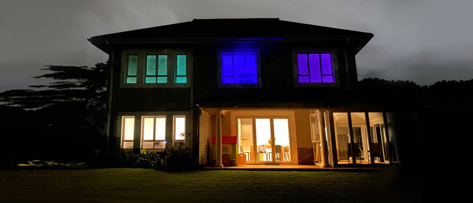 Light up your life with RGB Lighting this festive season
